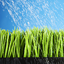 Watering grass photo